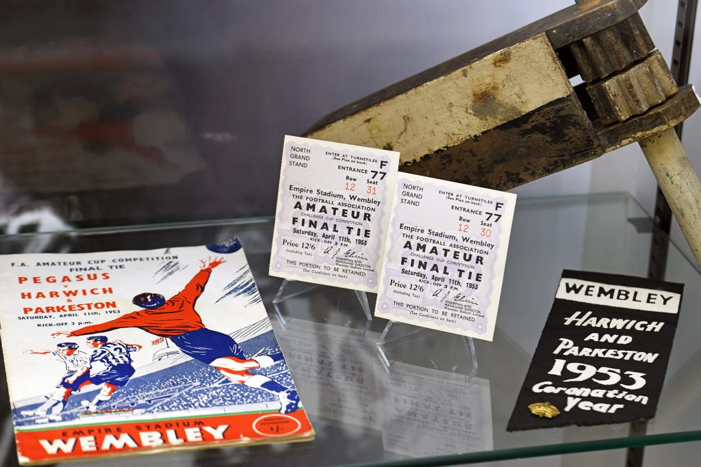One of the sport exhibits